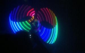 Teresa Callan's hula hoops