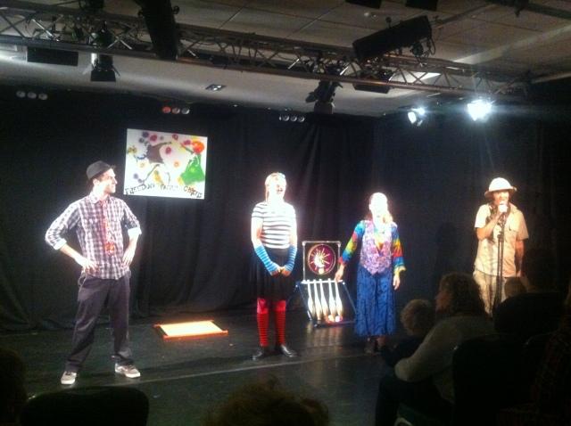 Freedom Family Circus at Edinburgh Fringe 2014
