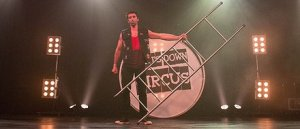 Joshua Phillips of Pants Down Circus